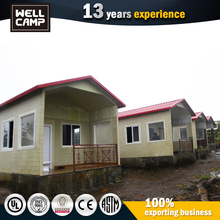 holiday resort small cabin prefabricated house/prefab house concrete villa for living restaurant