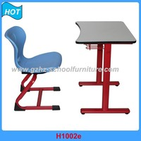 Cheap School Furniture Reading Table and Chair for Child Study