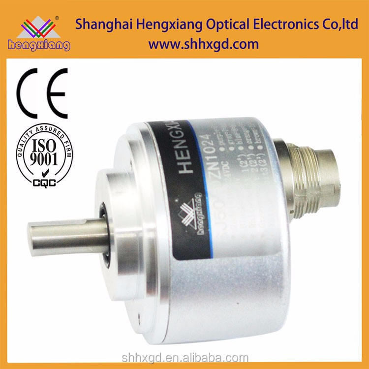4096 rotary encoder absolute solid shaft type 50mm CW or CCW direction