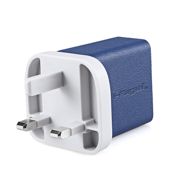 Promotional Brand quality Portable Travel 3 Port Uk Usb Wall Socket Charger
