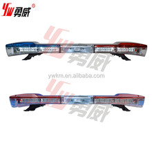 Police Warning Blue Lightbar With Siren And Speaker For Police Or Ambulance Vehicle