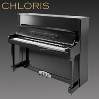 Music Instrument Vertical Mini Piano, Black Floor Piano, Keyboard Piano Professional HU-121E