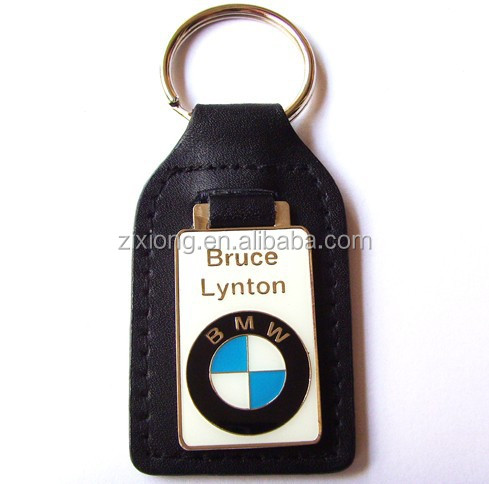 BMW Logo Lether Key Chain