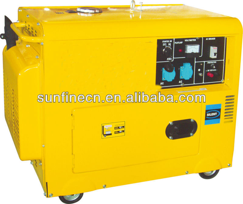 Small Hot Sale single/three phase Director-injection vertical diesel Generator