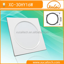 led manufactures in china embedded back light 16W 80lm/w ceiling panel