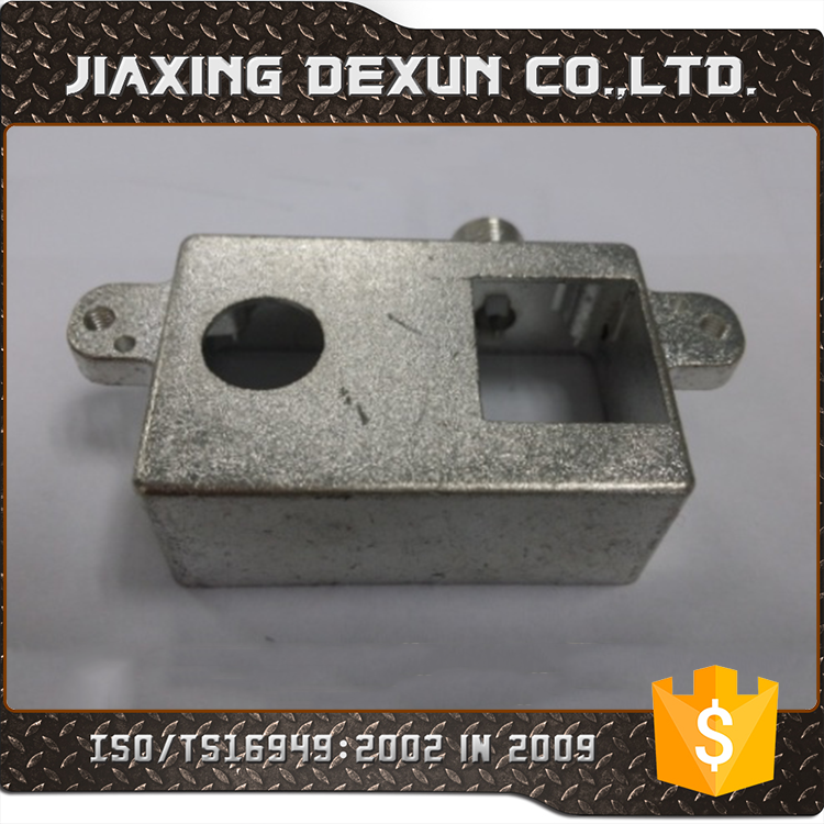 ISO9001 aluminum die casting led housing and raw materials for die casting