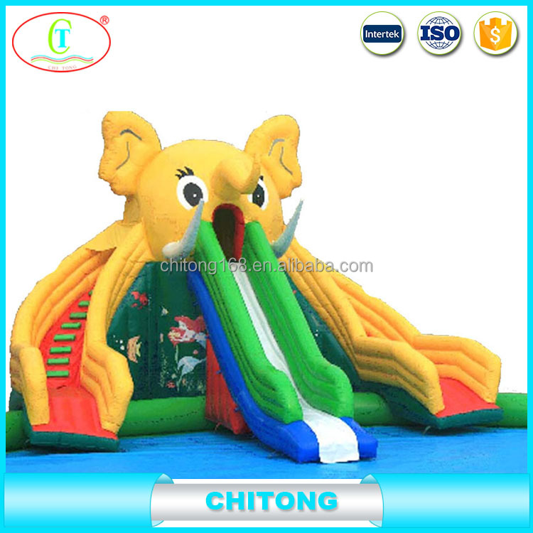 Customized Size Inflatable Water Slip N Slide For Kids And Adults