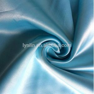 Good Quality 100 Polyester Satin Weaving Fake Memory Fabric
