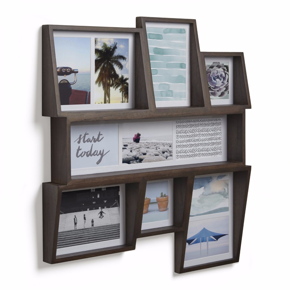 Simple wind wall decoration wooden photo frame