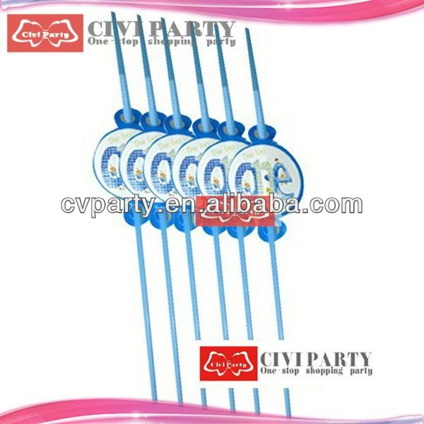 Updated hot sell custom logo printed plastic party straw top grade rainbow stripe paper straws