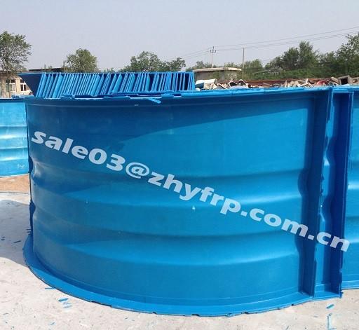 3 10m big round fiberglass aquaculture tank for fish farm for Aquaculture fish tanks