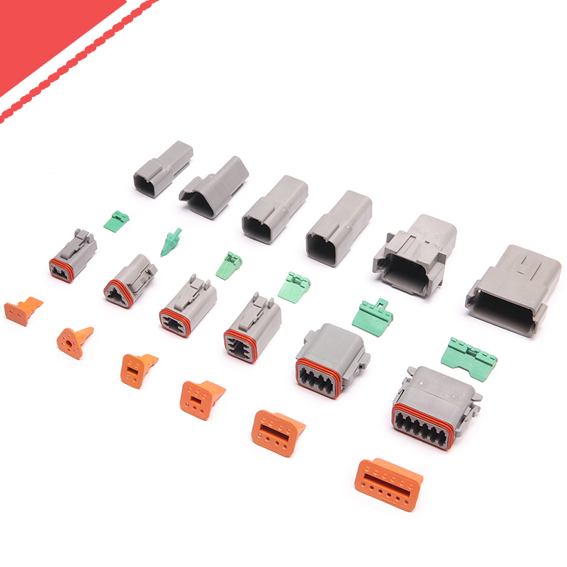 Kinkong DT06-2S DT Plug Kits Female 2 Way DT Connector