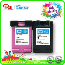 for canon for epson chip reset to full level ink cartridge for hp 650