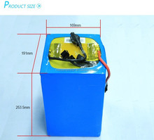 Rechargeable lithium ion lifepo4/LPF li battery pack 12v 24v 36v 48v 125v 144v for electric motorcycle