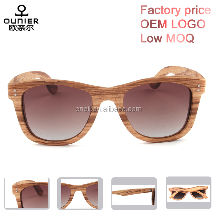 100% handmade full frames free custom logo polarized wooden sunglases 2017 <strong>fashionable</strong>
