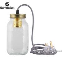 Modern Glass Lamp Murano Mason Jar Lights