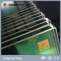 Tempered glass weight of 12mm glass