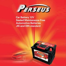 Perseus brand SMF DIN 54464 54434 EUROPE standard 12V 44AH car batteries