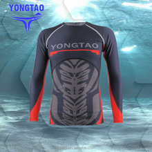 New style mma printed rash guard rashguards for men