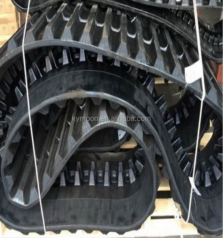 Kubota Harvester vehicle rubber track/ kubota combine spare parts 400*90 450*90