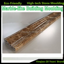 Nano Material Stone Powder Plastic Pvc Resin Faux Marble Skirting Baseboard