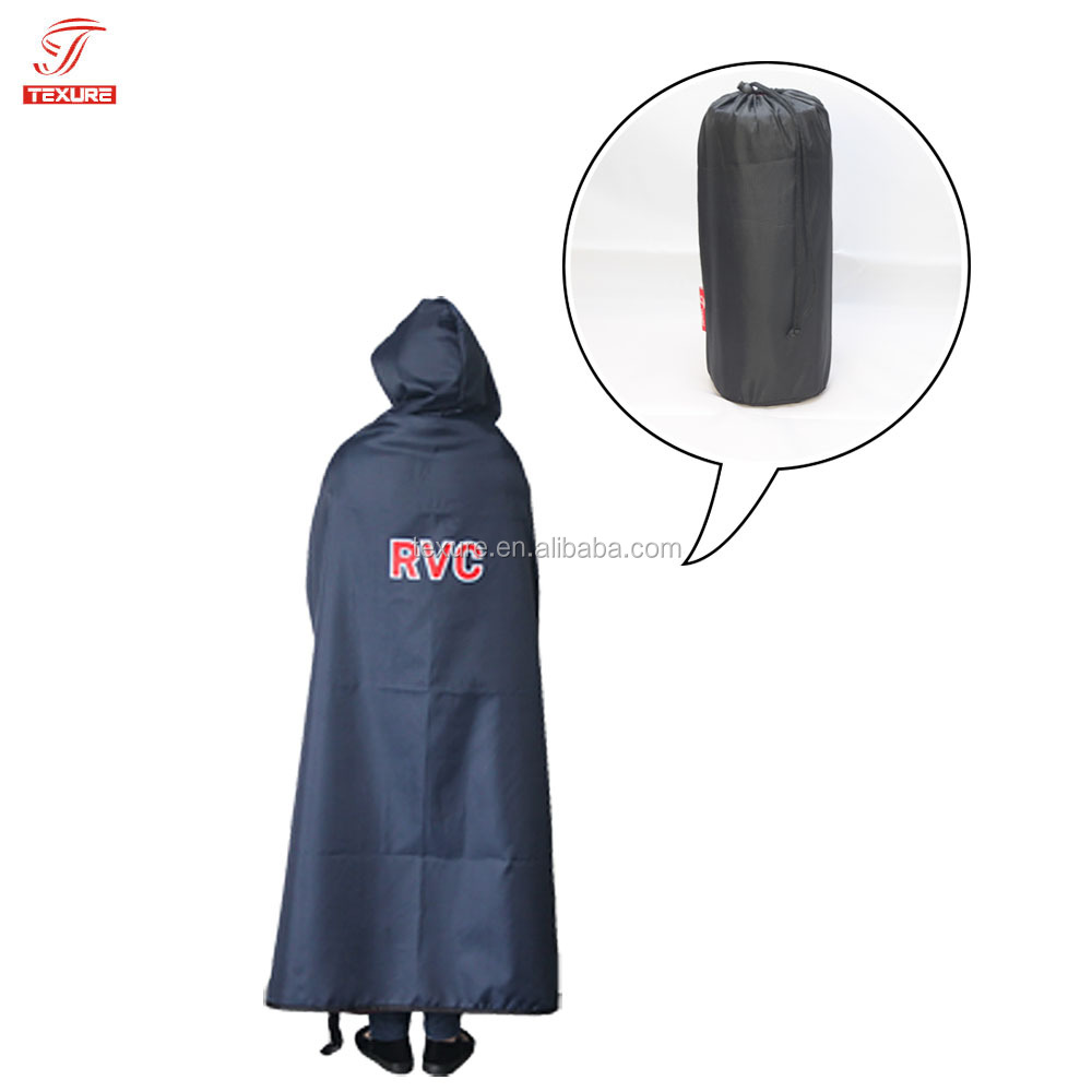 Adult Waterproof Stadium Hooded Blankets Poncho from China Supplier
