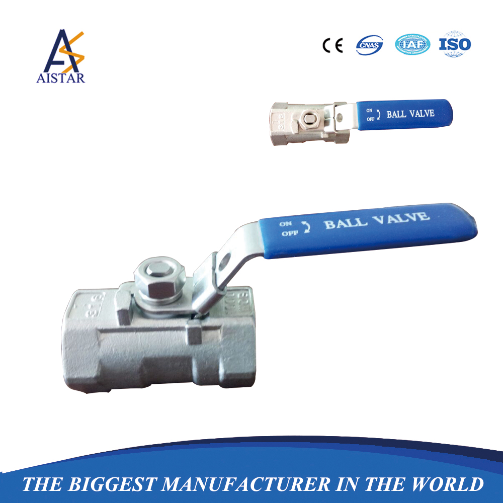 High quality modulating 1 2 inch 1PC stainless steel ball valve