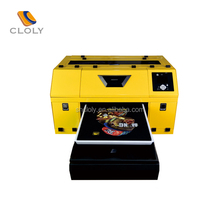 Foctory price a3 size digital t shirt printing machine for sale,small smart direct textile printer machine