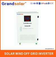 2000W 2KW DC TO AC 110 120 220 230 240 V PURE SINE SINGLE PHASE OFF GRID SOLAR POWER UPS INVERTER