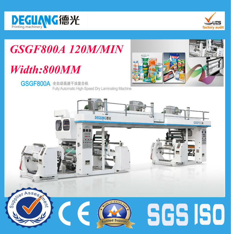 GSGF800A 2014 Hot sale Fully Automatic industrial laminating machine