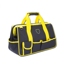 Large Capacity Polyester Roll Up Electrician Tool Bag Trolley