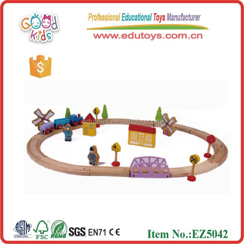 Educational Wooden Trail Toys Promotional Wooden Kids Trail Toys