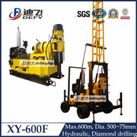 Promotion Sales for New Tower XY-600F underground drilling rig for water borehole