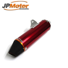 JPMotor Aluminum 38mm Exhaust Muffler Pipe For CRF150F CRF230F Enduro Motocross