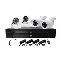 top HDMI AHD DVR KIT 4PCS 960P IR Outdoor underwater CCTV Camera 24 LEDs Home Security System Surveillance Kits with P2P