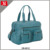 Fashion design wholesale multifunctional leather custom mommy diaper bag