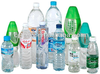 PET bottle and glass bottle,water filled pen