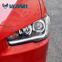 CCC CE E-Mark Car Styling Auto Modified Led Headlamp For Mitsubishi Lancer Ex 2010up