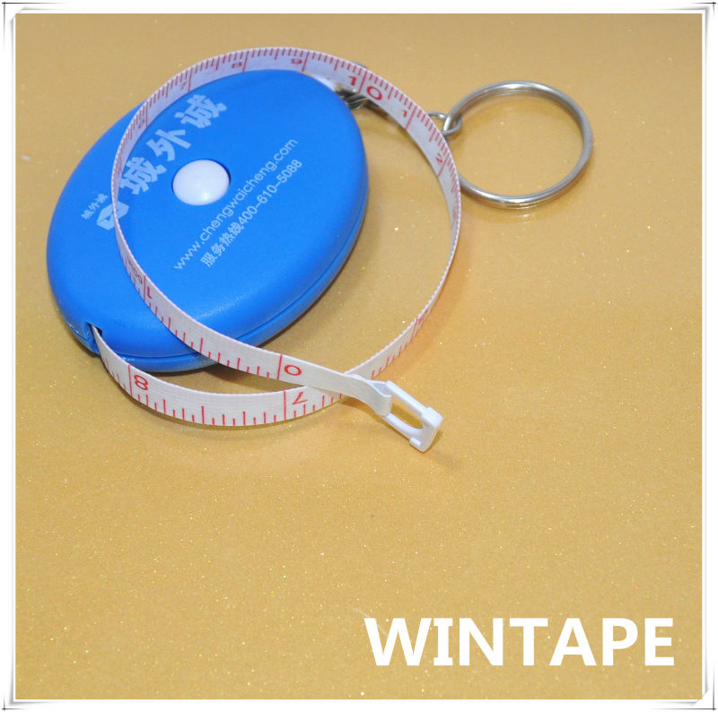 Wholesale car keyring retractable key chain for measuring clothing supplier china
