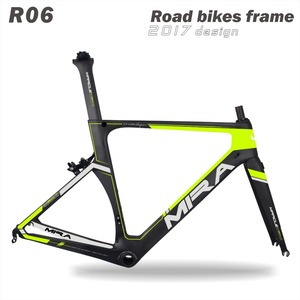 bb68 road bicycle frame &shenzhen Miracle carbon bicycle frames & R06 Di2 carbon aero road frame