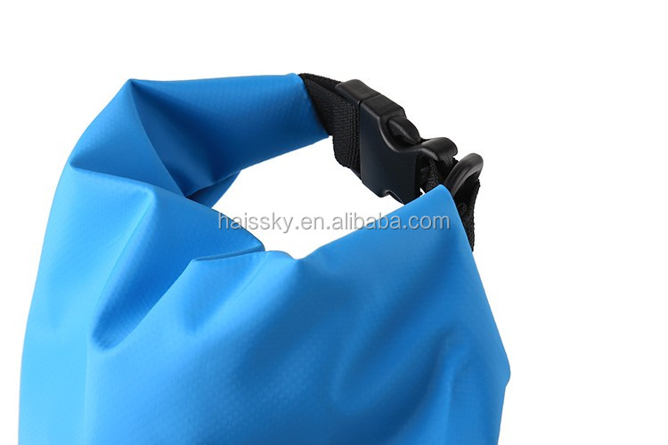 HAISSKY Custom logo waterproof dry barrels for camera,cloth bag for travelling with shoulder strap