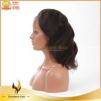 High Ponytail Full Lace Natural Afro Wigs