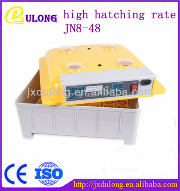 CE approved small chick egg hatch machine for hatch egg