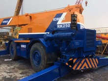 Used kobelco crane 25t for sale good machine, location : shanghai china good condition