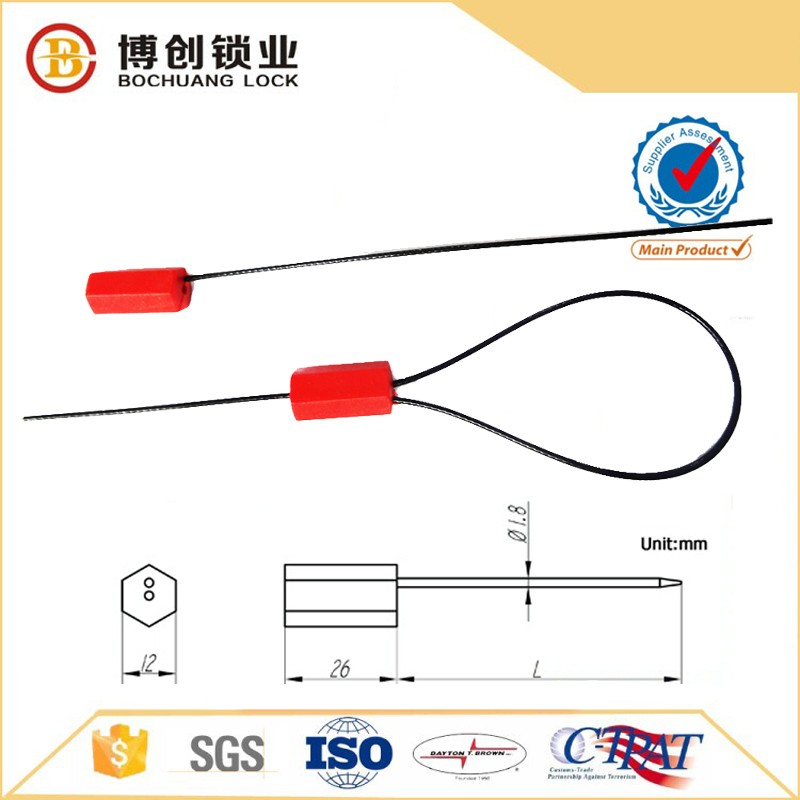 Oil tank van truck logistic cable seal ring security cable seal