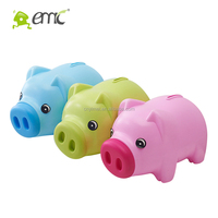 animal style pig piggy bank lovely with plastic