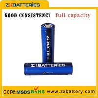 Genuine bak b18650ca 200ah 18650 li ion battery li ion ZXBbattery 2250mah 10A discharging rate 18650cg CGR battery for bike