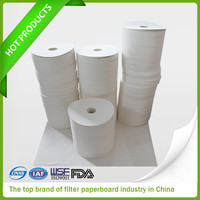 Hot Selling Different Sizes White Rolling Filter Paper producer in China