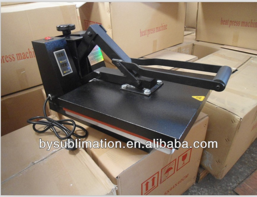 Clamshell PRENSA TERMICA 38*38 / 40X 60 cm - sublimation heat press high pressure transfer machine