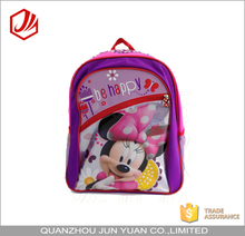 School bags trendy backpack mickey mouse school bag backpack for primary school